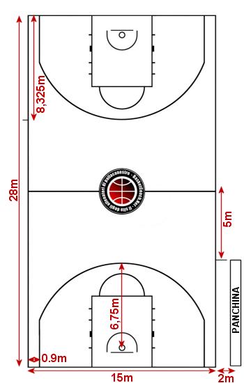 0001 campo di gioco e attrezzature le - Pagine da colorare per la pallacanestro ...