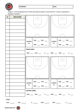 Files per gestire la tua squadra coach for Aprire piani moderni